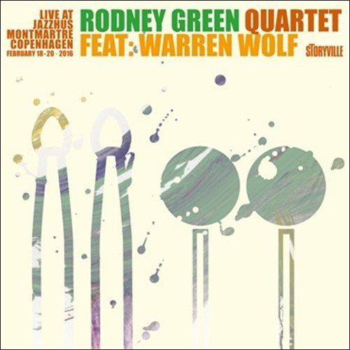 RODNEY GREEN - Live at Montmartre cover
