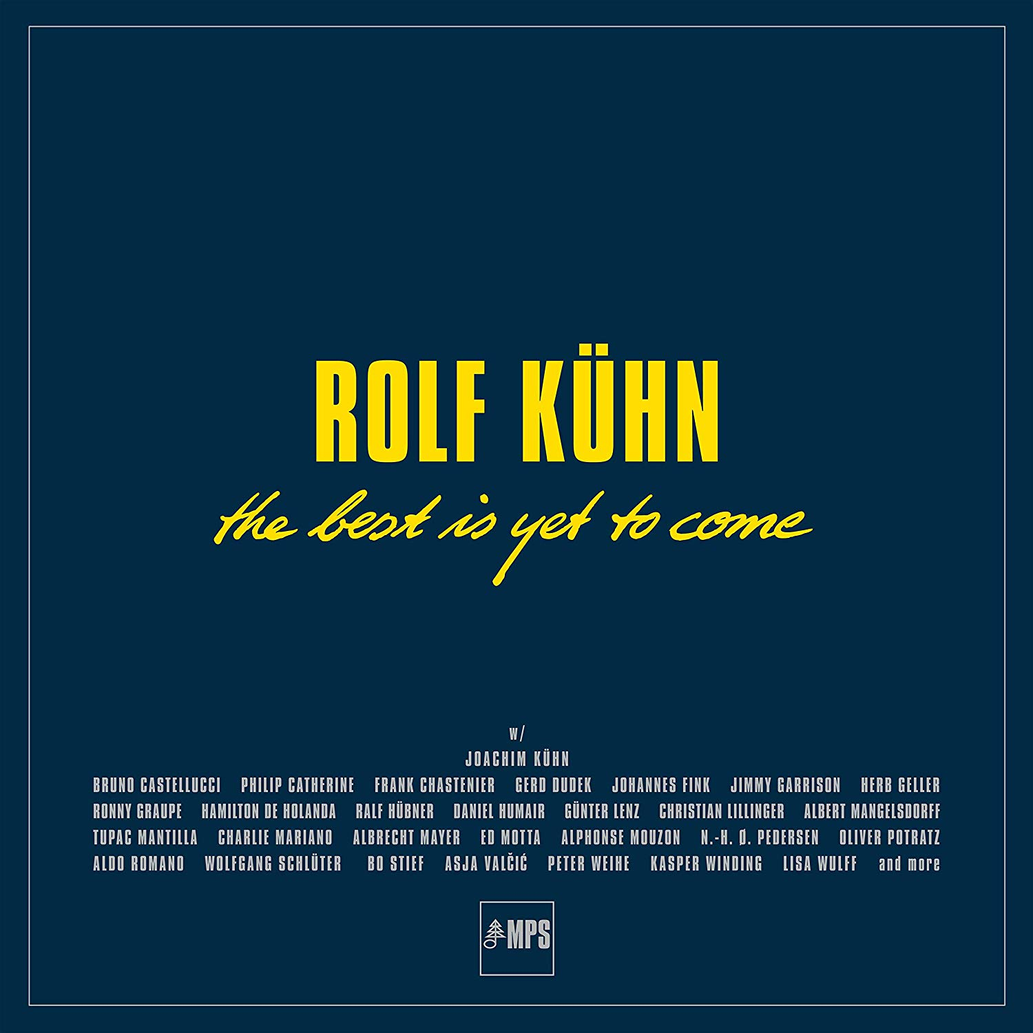 ROLF KÜHN - Best Is Yet to Come cover