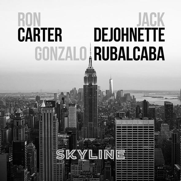 RON CARTER - Ron Carter, Jack DeJohnette & Gonzalo Rubalcaba : Skyline cover