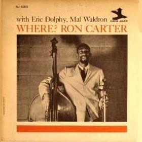 RON CARTER - Where? cover