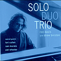 RON DAVIS - Solo Duo Trio cover