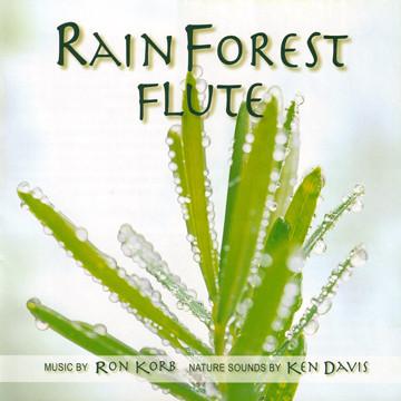 RON KORB - Ron Korb And Ken Davis : Rainforest Flute cover