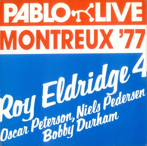 ROY ELDRIDGE - Montreux 77 cover
