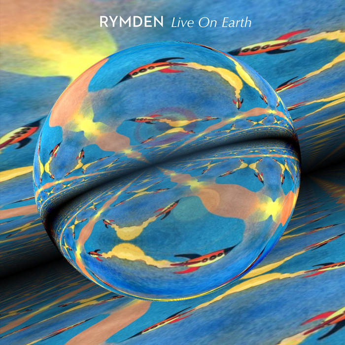 RYMDEN - Live on Earth cover