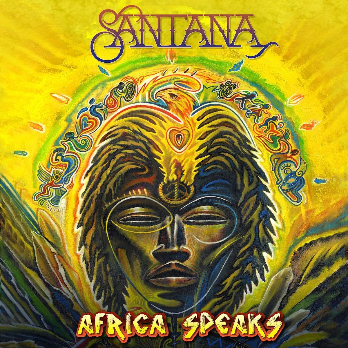 SANTANA - Africa Speaks cover
