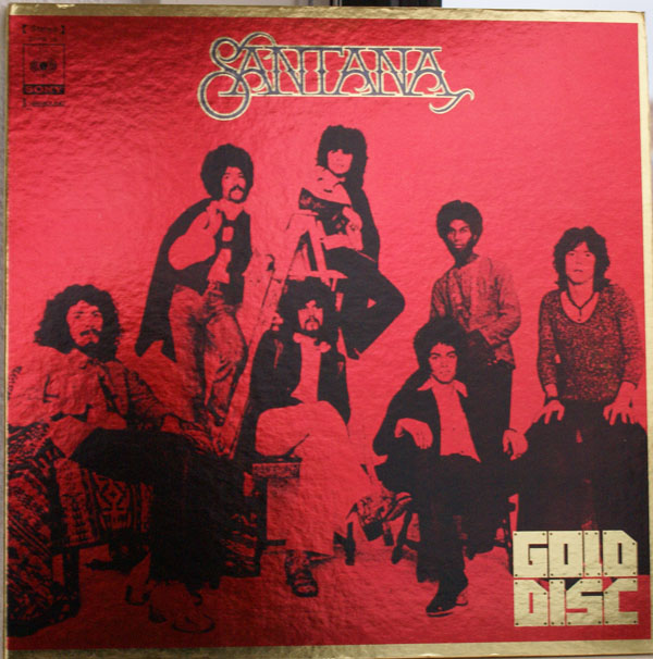 SANTANA - Gold Disc cover