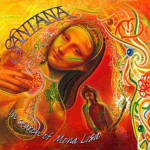 SANTANA - In Search of Mona Lisa cover