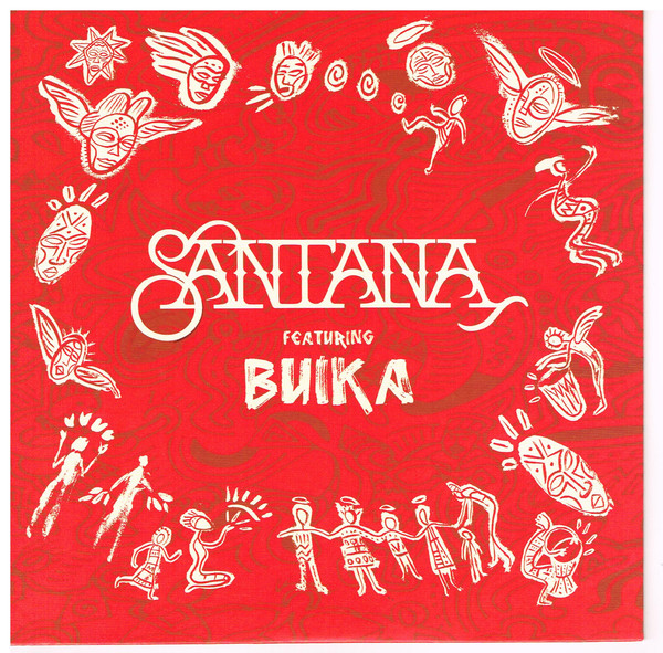 SANTANA - Santana Featuring Buika : Breaking Down The Door / Dolor De Rumba cover