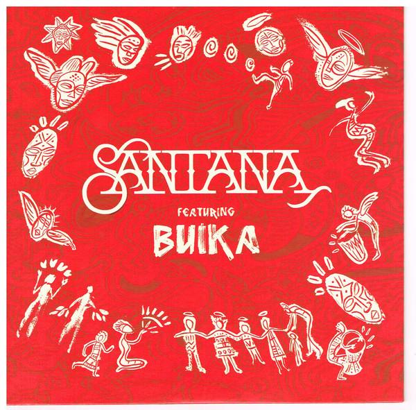 SANTANA - Santana Featuring Buika : Breaking Down The Door / Dolor De Rumba cover