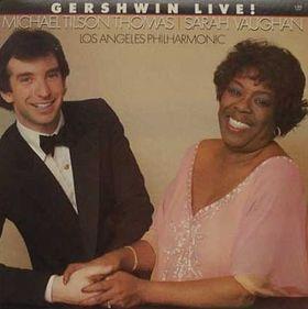 SARAH VAUGHAN - Gershwin Live! cover