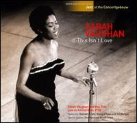 SARAH VAUGHAN - If This Isn't Love cover