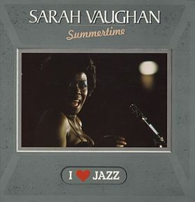 SARAH VAUGHAN - Summertime cover