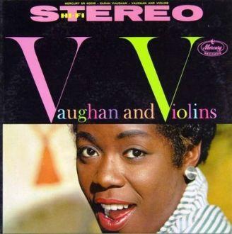 SARAH VAUGHAN - Vaughan and Violins cover