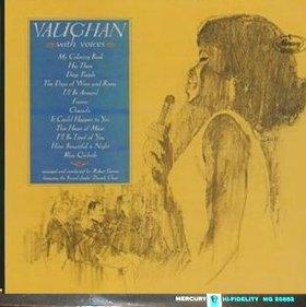 SARAH VAUGHAN - Vaughan With Voices cover