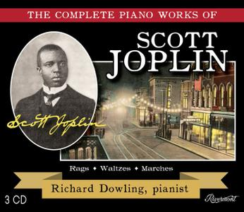 SCOTT JOPLIN - The Complete Piano Works Of Scott Joplin / Richard Dowling, pianist cover