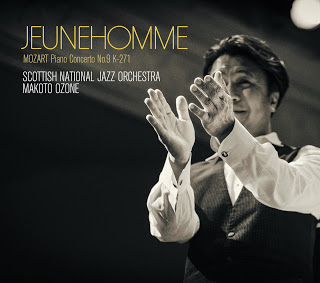 SCOTTISH NATIONAL JAZZ ORCHESTRA - Scottish National Jazz Orchestra / Makoto Ozone : Jeunehomme cover