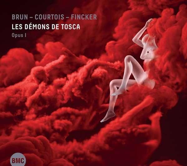 SÉBASTIEN BRUN - Sebastien Brun, Vincent Courtois & Robin Fincker : Les Démons De Tosca Opus 1 cover