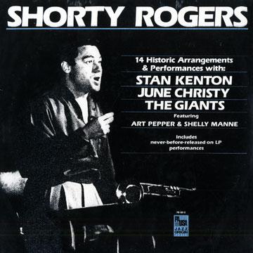 SHORTY ROGERS - 14 Historic Arrangements & Performances cover