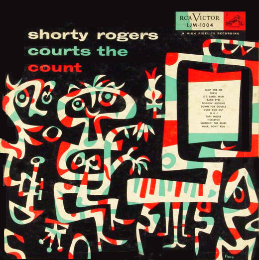 SHORTY ROGERS - Courts the Count cover