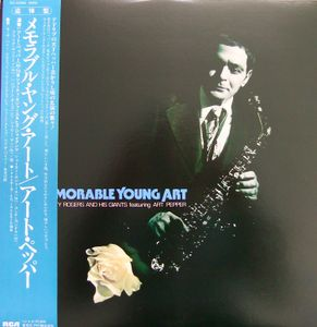 SHORTY ROGERS - Memorable Young Art cover