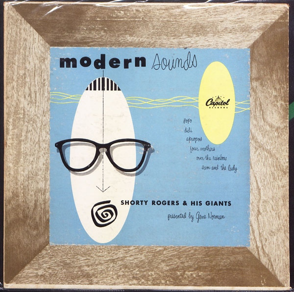 SHORTY ROGERS - Modern Sounds cover