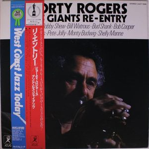 SHORTY ROGERS - Re-Entry cover