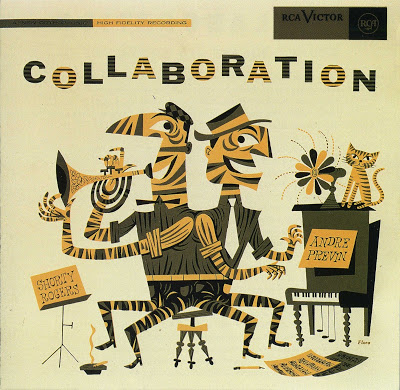 SHORTY ROGERS - Shorty Rogers & Andre Previn : Collaboration cover