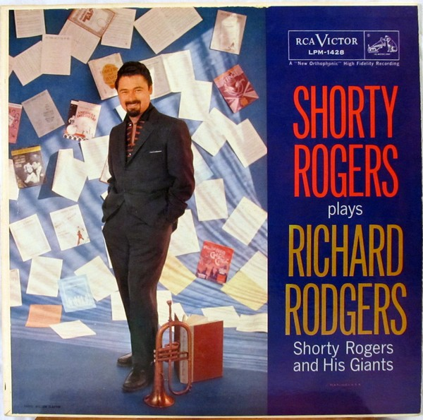 SHORTY ROGERS - Shorty Rogers Plays Richard Rodgers cover