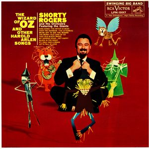 SHORTY ROGERS - The Wizard of Oz and Other Harold Arlen Songs cover