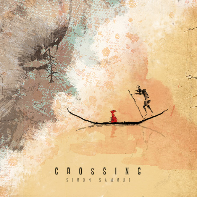 SIMON SAMMUT - Crossing - A Visual and Music Experience cover