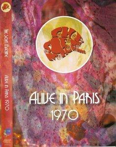 SOFT MACHINE - Alive in Paris 1970 cover