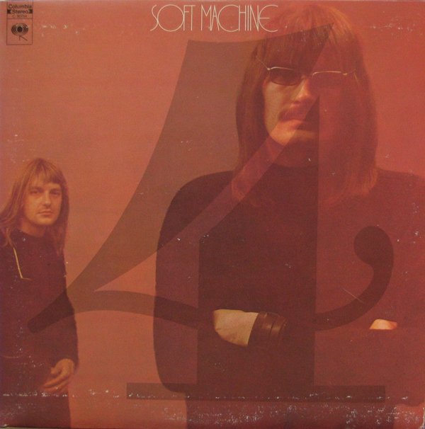 SOFT MACHINE - Fourth cover