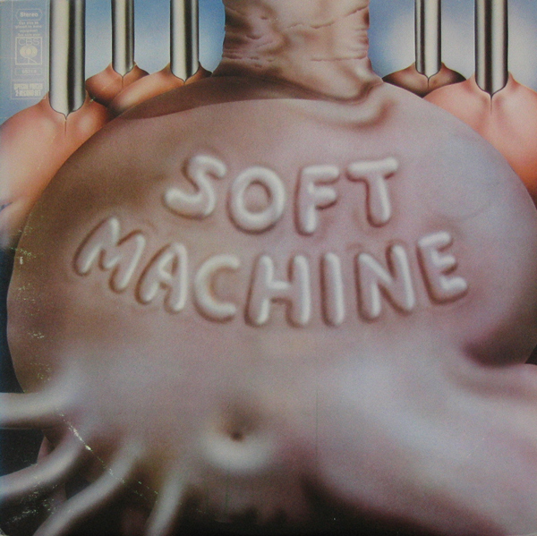 SOFT MACHINE - Six cover