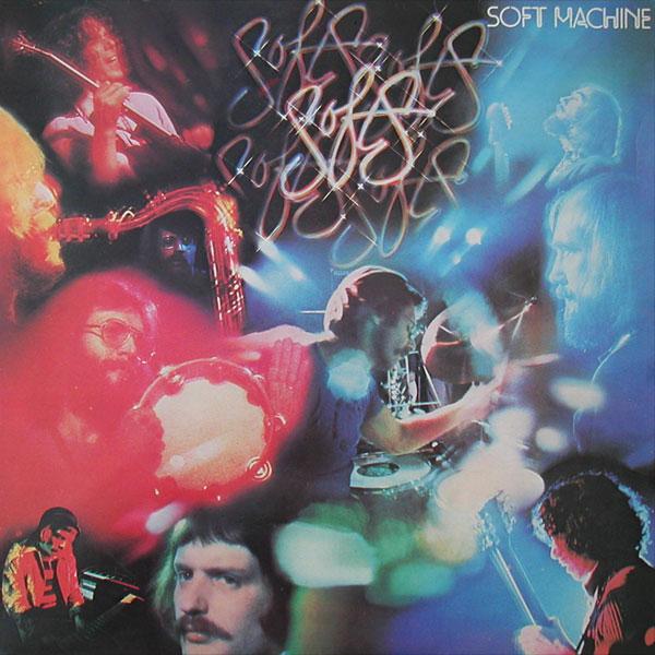 SOFT MACHINE - Softs cover