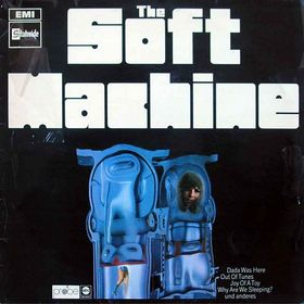 SOFT MACHINE - The Soft Machine cover