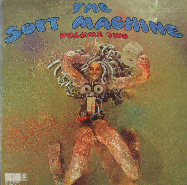 SOFT MACHINE - Volume Two cover