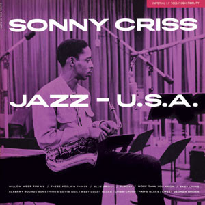 SONNY CRISS - Jazz - U.S.A. cover