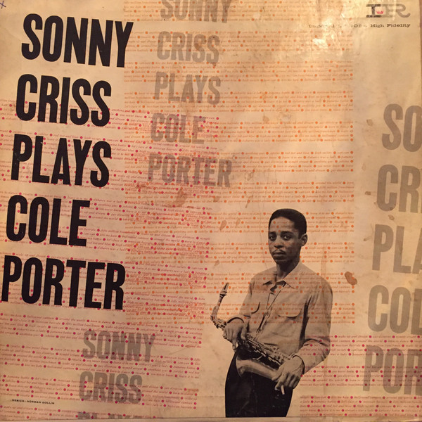 SONNY CRISS - Plays Cole Porter cover