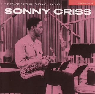 SONNY CRISS - The Complete Imperial Sessions cover