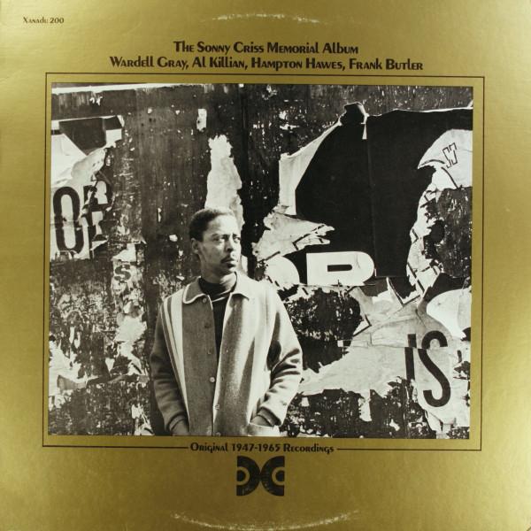 SONNY CRISS - The Sonny Criss Memorial Album cover