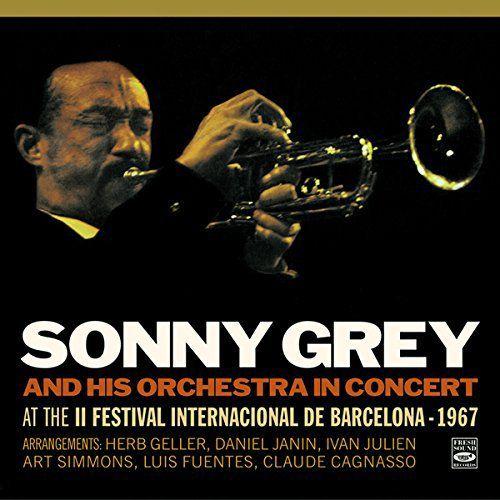 SONNY GREY - In Concert at the II Festival Int. de Barcelona 1967 cover