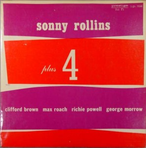SONNY ROLLINS - Plus 4 (aka 3 Giants!) cover