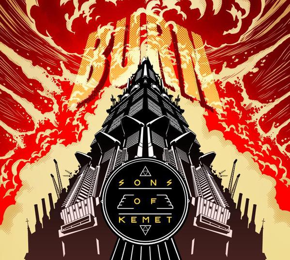 SONS OF KEMET - Burn cover