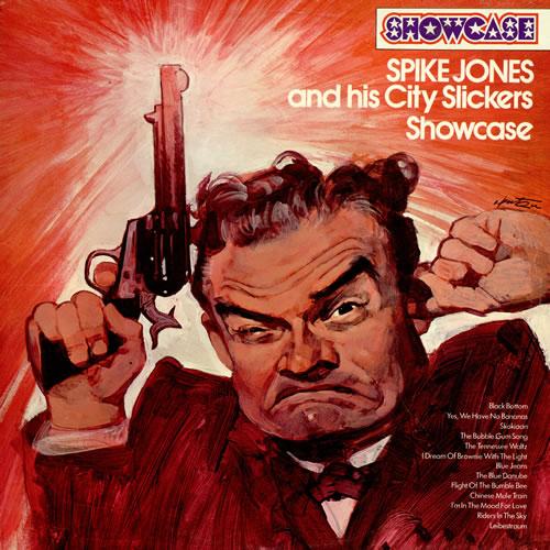 SPIKE JONES - Showcase cover