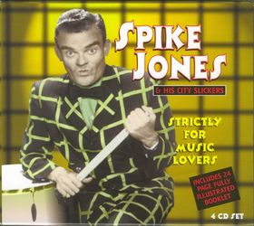 SPIKE JONES - Strictly for Music Lovers cover
