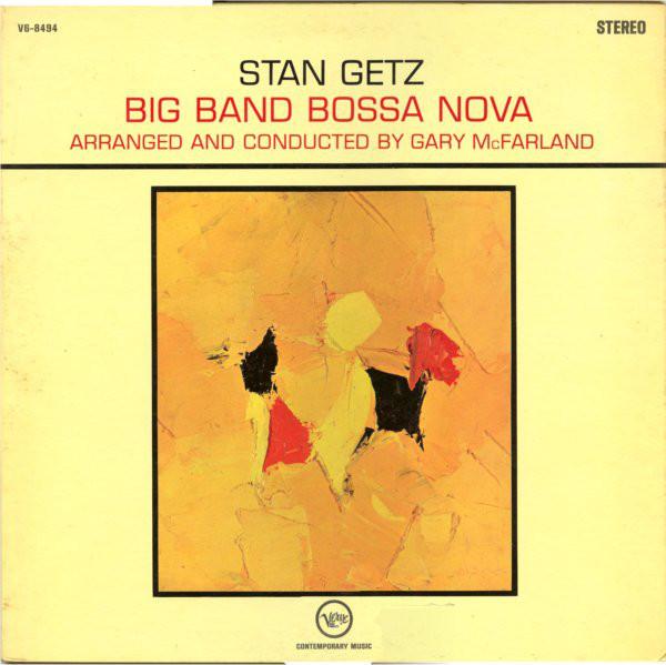 STAN GETZ - Big Band Bossa Nova cover