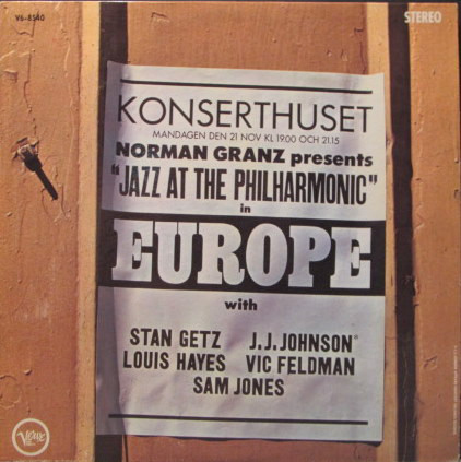 STAN GETZ - Norman Granz Presents