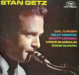 STAN GETZ - Stan Getz with Cal Tjader cover