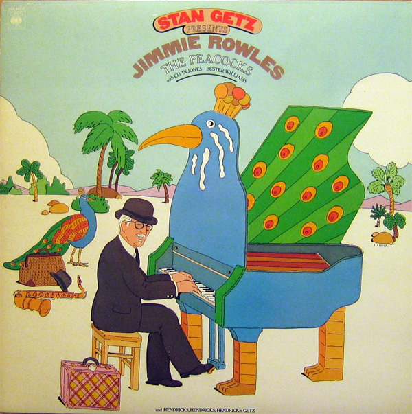 STAN GETZ - The Peacocks cover