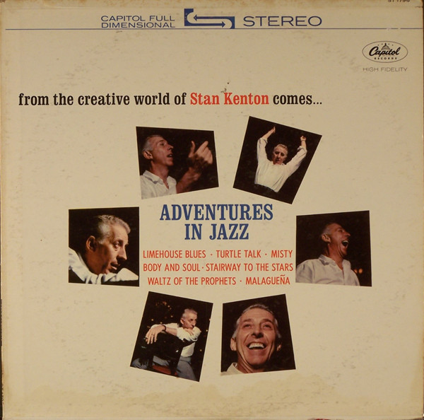 STAN KENTON - Adventures in Jazz cover